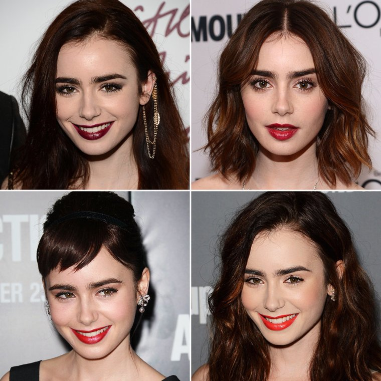 Lily-Collins-Hair-Makeup-Over-Years